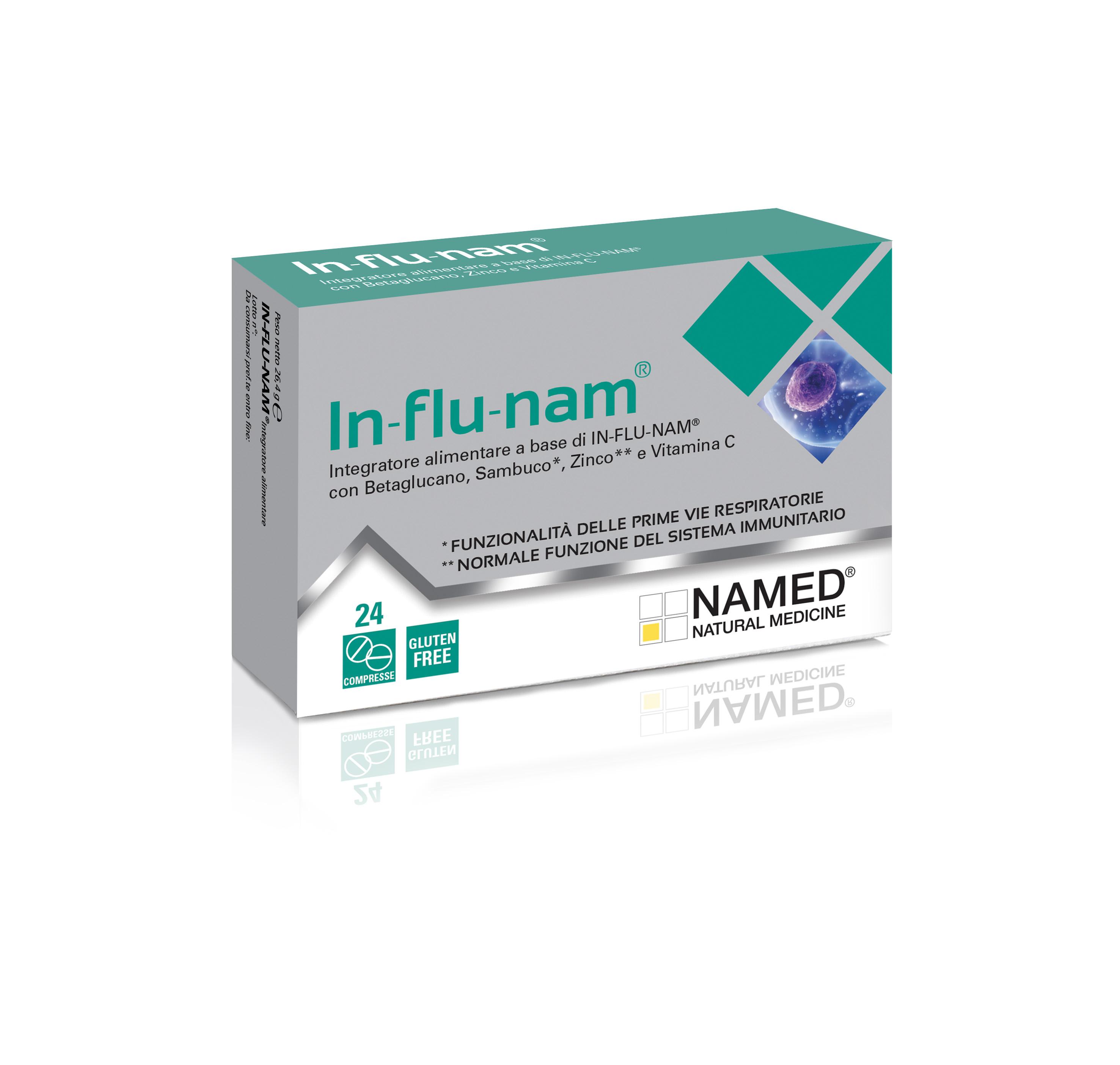 named In-flu-nam®